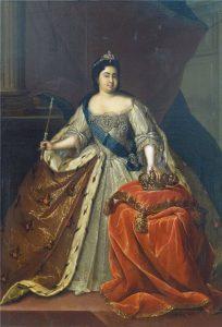 Catherine I Marta's Ball (Martas Balle) Бал Марты Latvia